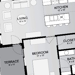 East Terrace Apartments: Spacious Layouts